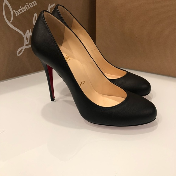 detailed look eb543 eab76 Christian Louboutin Fifille Heels Pumps Black 36